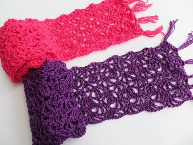 Crochet Lacy Scarf Pattern For Spring Crochet Dreamz,Glass Noodles Wide