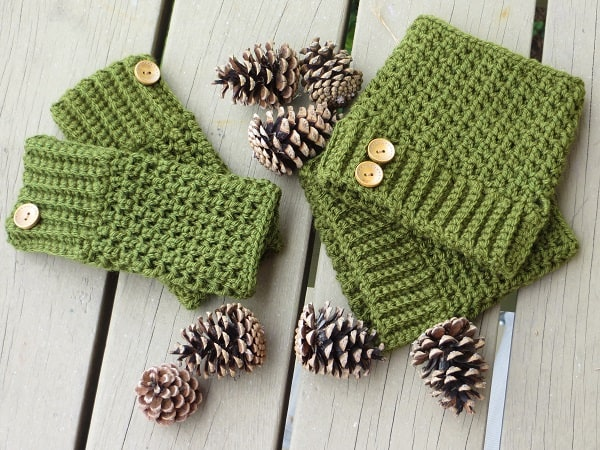 Crochet Fingerless Gloves Free Pattern Crochet Dreamz