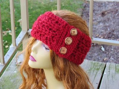 Angelina Ear Warmer Chunky Ear Warmer Crochet Pattern Crochet Dreamz Amazing Chunky Crochet Ear Warmer Pattern