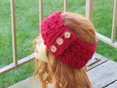 Angelina Ear Warmer Chunky Ear Warmer Crochet Pattern Crochet Dreamz Simple Chunky Crochet Ear Warmer Pattern