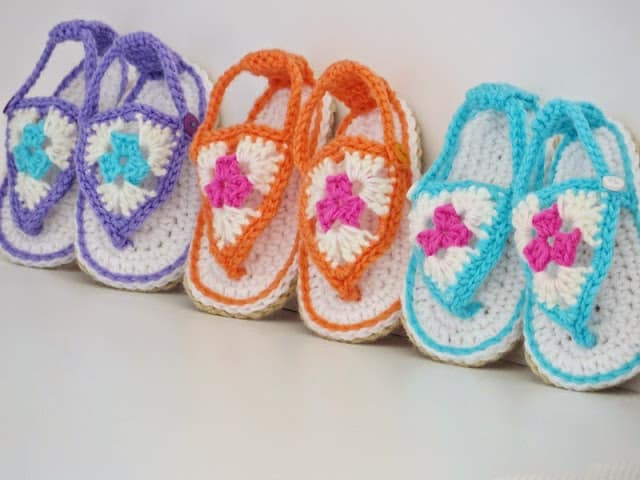 Image result for Learn how to weave Crochet Soles for Baby in 4 sizes