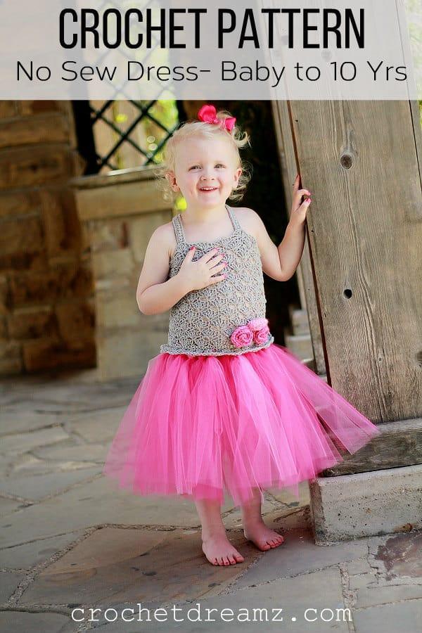 Crochet Tutu Baby Dress Pattern