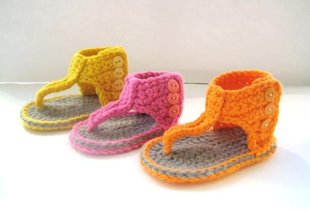 Free Pattern Crochet Baby Sandals Images Knitting Patterns Free