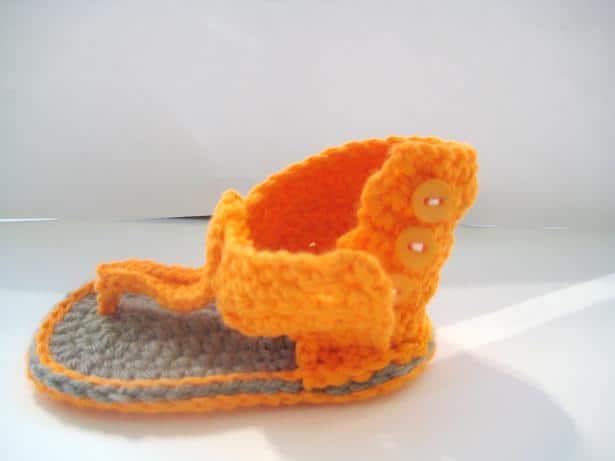 Gladiator Sandals Crochet Pattern For Baby Crochet Dreamz