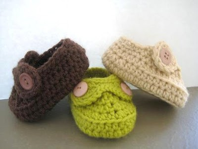 Boys Striders Crochet Baby Booties Pdf Pattern For Sale Crochet