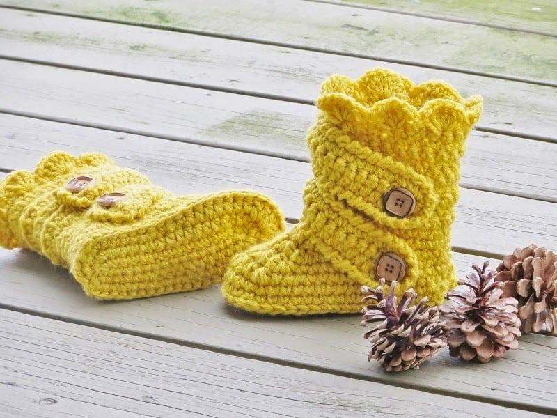 Childs Classic Snow Boots Crochet Pattern Pdf Crochet Pattern Us