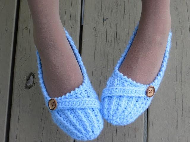 Anne Lee Slippers Crochet Slipper Pattern For Women Us Sizes 5 To