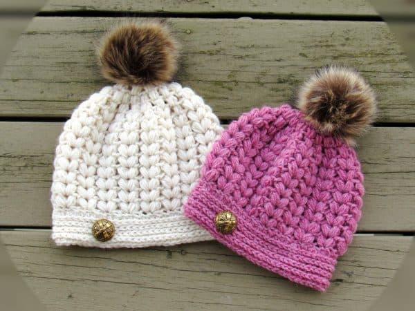 Easy Crochet Hat Tutorial