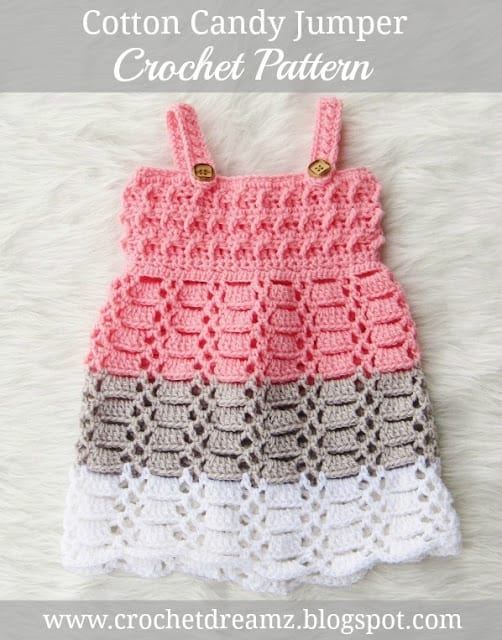Crochet Baby Dress Pattern Newborn To 2 Years Crochet Dreamz