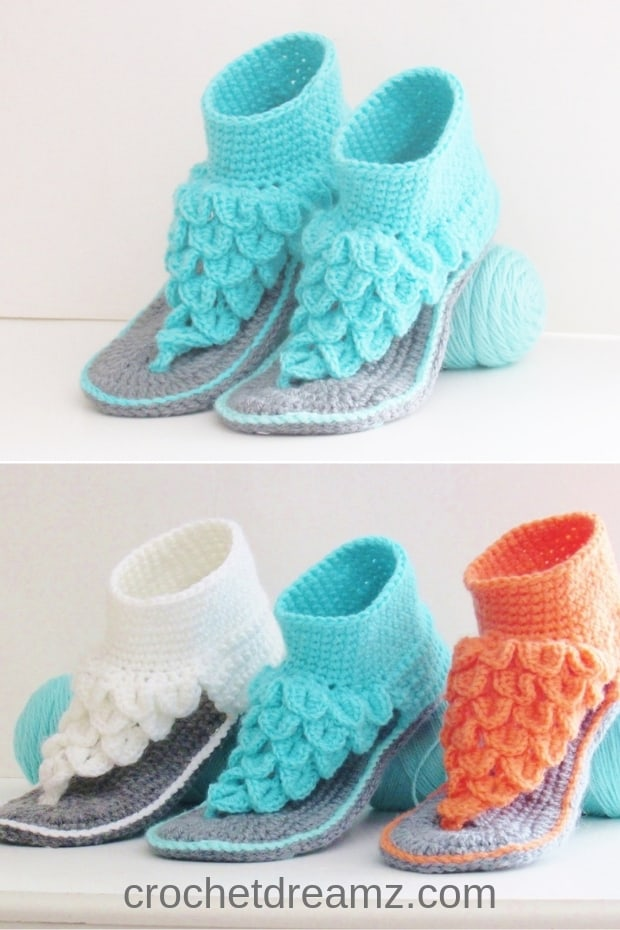 f59f7c90e171e Boho Dreamz Sandals Crochet Pattern, Both Indoor and Outdoor ...