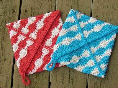 Free Potholder Crochet Pattern, Urban Kitchen Potholder