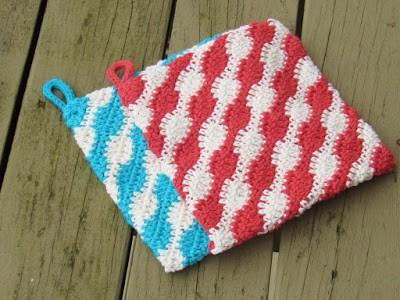 Free Potholder Crochet Pattern Urban Kitchen Potholder Crochet Pot