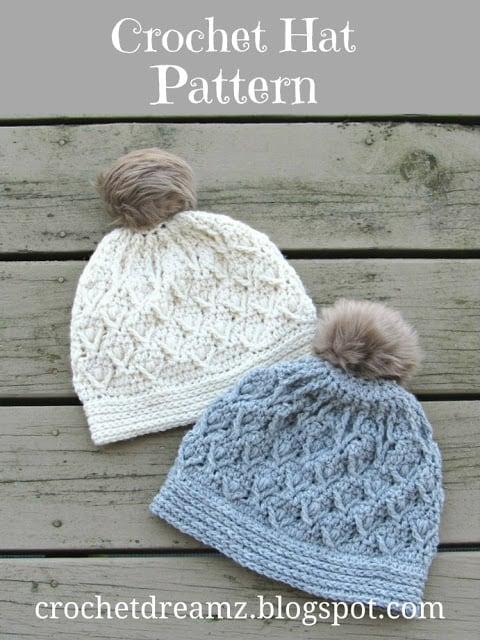 Textured Hat Crochet Pattern
