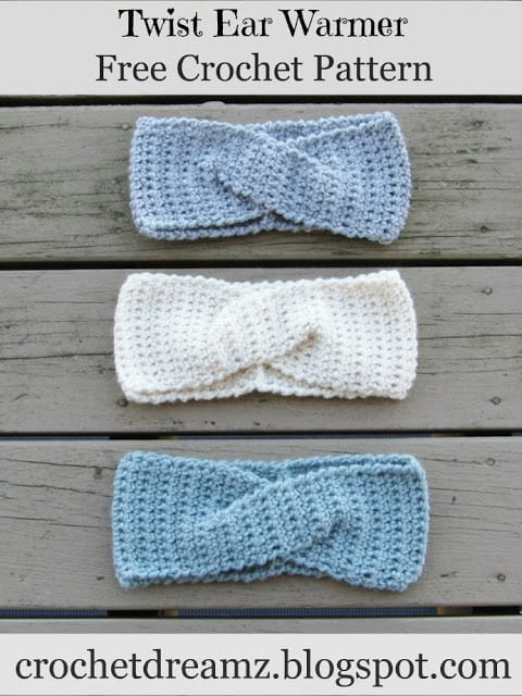Crochet Ear Warmer Pattern With a Twist