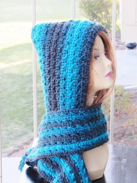 Heidi Hooded Scarf Free Crochet Pattern Crochet Dreamz Beauteous Free Hooded Scarf Crochet Pattern