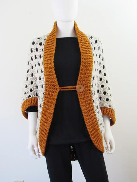 Blanket Cardigan Crochet Pattern