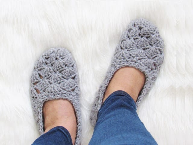 Beginner Crochet Slipper Pattern