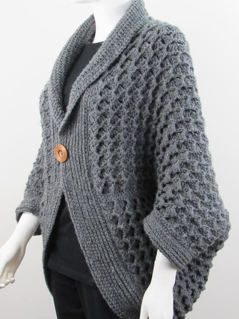 Crochet Blanket Shrug