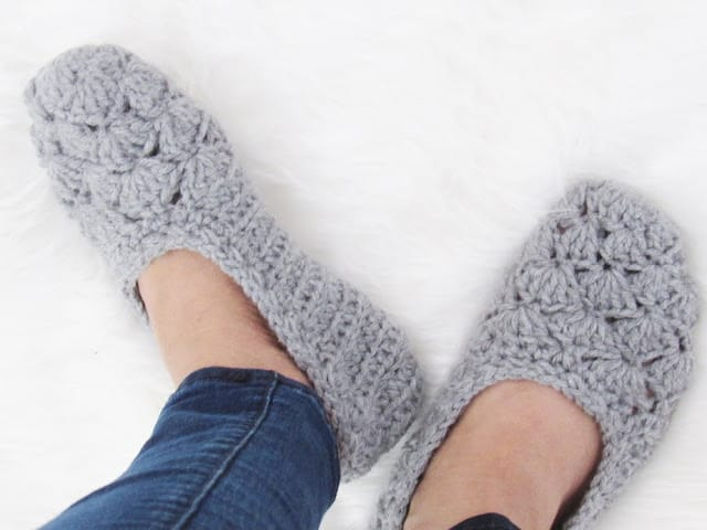 Woman's Crochet Slipper Pattern