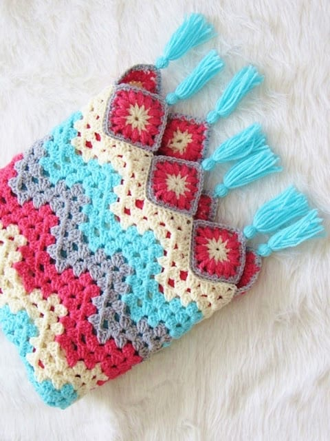 Beginner Crochet Afghan Pattern
