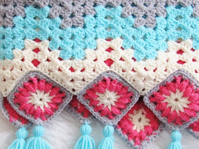 Blanket Crochet Pattern