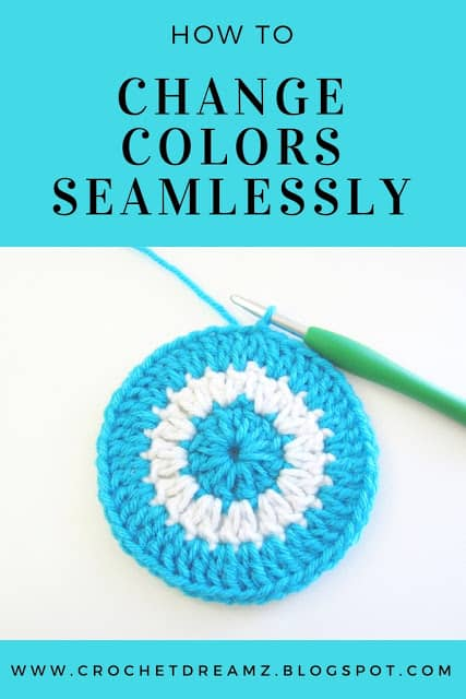 How to Change Colors in Crochet Rounds