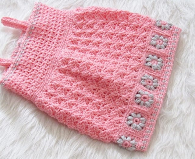 Floral Baby Dress Crochet Pattern Crochet Dreamz