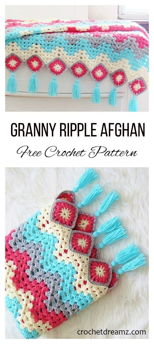 Ripple Afghan Crochet Pattern Magnificent Inspiration