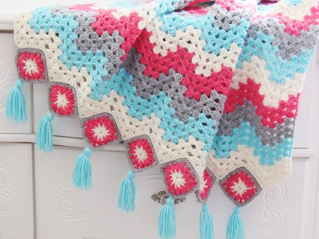 Ripple Afghan Crochet Pattern