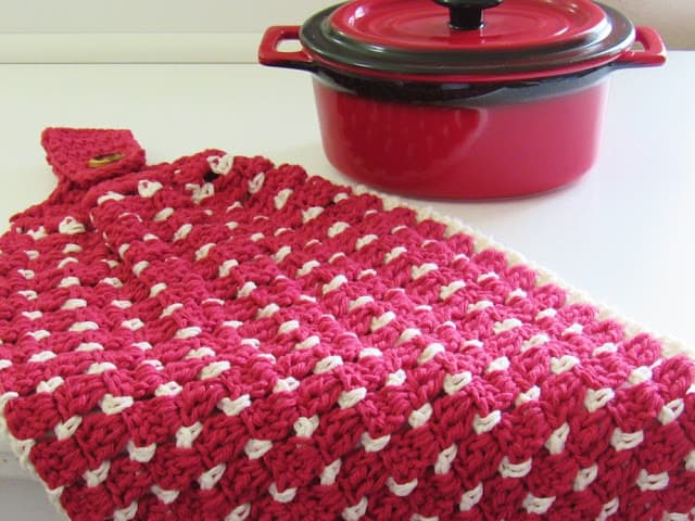 Block Stitch Kitchen Or Tea Towel Free Crochet Pattern Crochet Dreamz