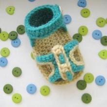 Peep-toe sandlas - 3-12 months - $5
