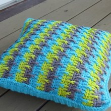 Textured Throw Pillow Cover