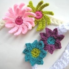 Baby Headbands with Flowers