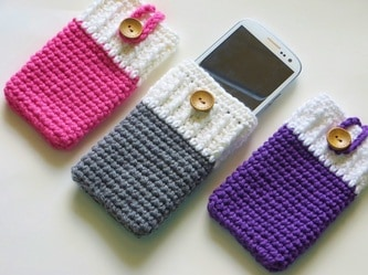 Mobile Phone Cozy- can be made for any mobile