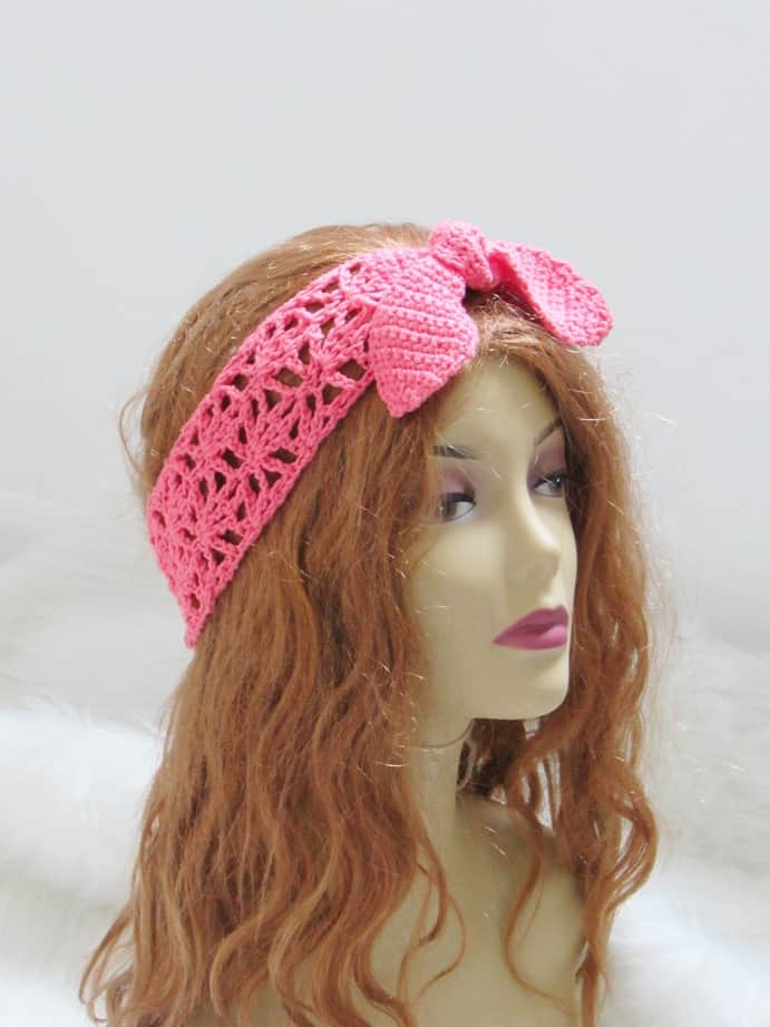 Crochet Headband for Women