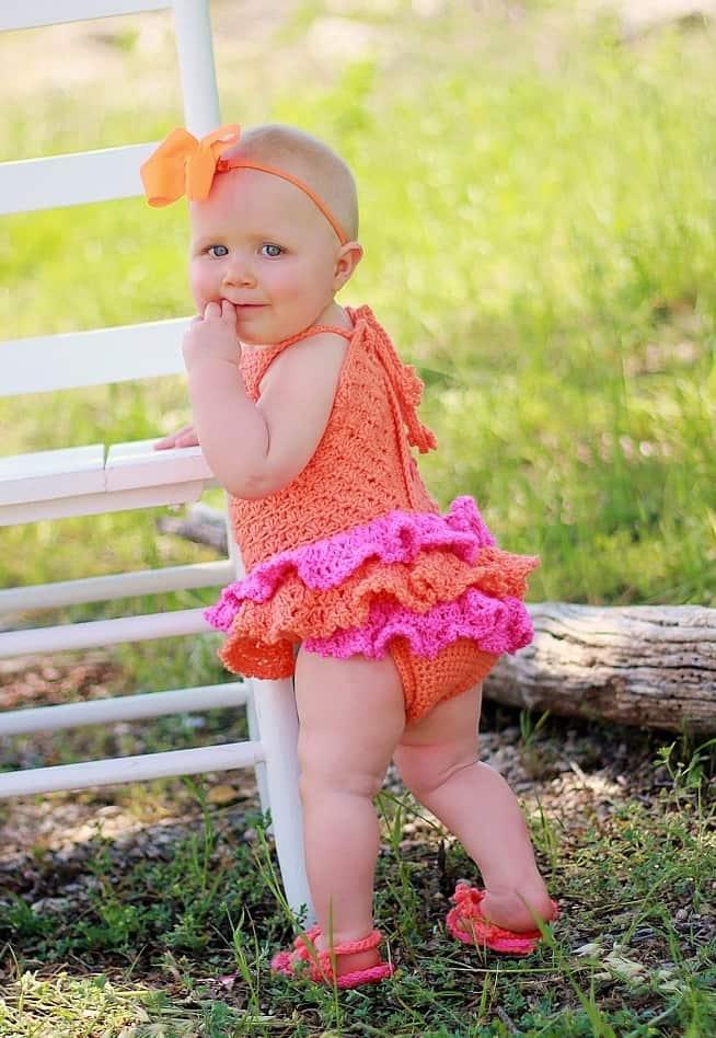 Baby Sun Suit Romper- Newborn to 2 Years- $5.5