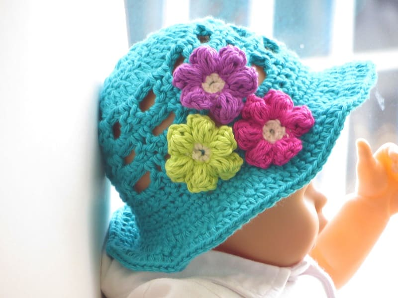 Girl's Sun Hat- Baby to 10 years- $5.50