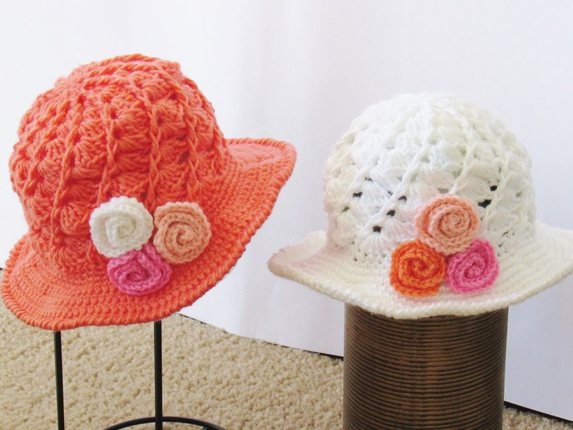 April Sun Hat- Baby to Woman- $5.5