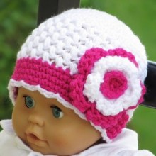 Sofia Beanie - Newborn To Woman - $5