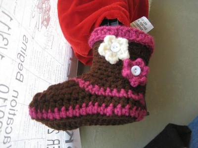 Boots for Girls- 0-12 Months- $5