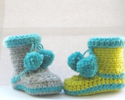 Boots for Boys- 0-12 Months- $5