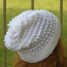 Claudia Slouchy Beanie, Baby to Woman Sizes - $5.50