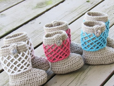 Claire Boots for Baby- 0-12 Months- $5