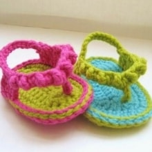 Flip Flops for Baby Girl- 0-3 months to 1 Year- $5