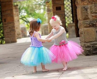 No Sew Tutu Dress- Baby to 10 Years- $5.50