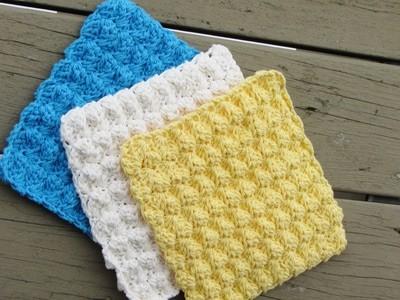 Dishcloth or Washcloth Pattern