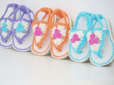 Happy Feet Sandals- 3 Months to 1 Year- $5.50