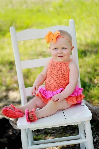 Baby Sun Suit Romper- Newborn to 2 Years- $5.5