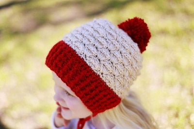 Eden Ear flap Hat, 0-3 months to Woman- $5