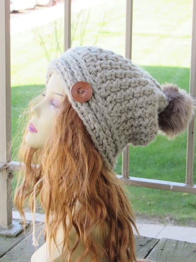 Knit Look Chunky Slouch- Toddler, Child, Adult- $5.50